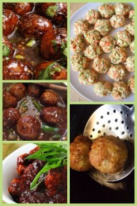 chicken ball manchurian